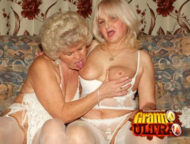 Busty Older Women Having Lesbian Sex