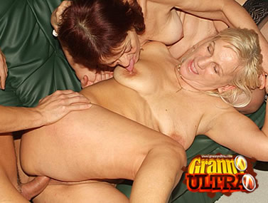 Sexy Ass Grannies Having a Threesome