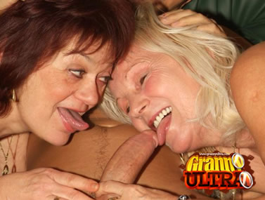 GILFs Paula and Remy Threesome