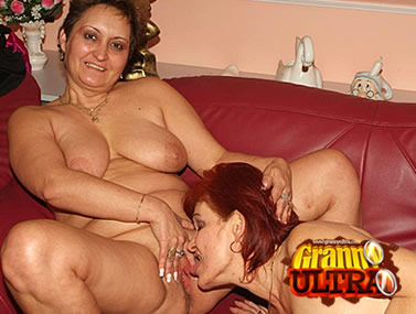 Busty Grannies Eating Each Other Out