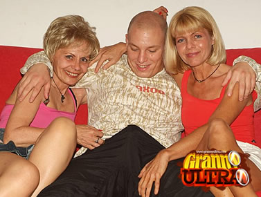 Older Blondes Having a Threesome